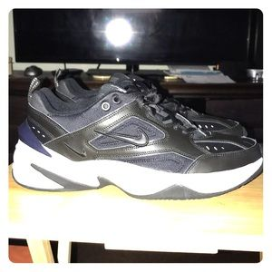 NIKE M2K Tekno Casual Lifestyle Shoes Black White